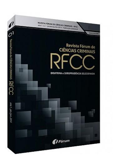 REVISTA FÓRUM DE CIÊNCIAS CRIMINAIS – RFCC