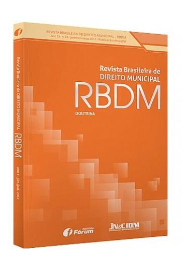 REVISTA BRASILEIRA DE DIREITO MUNICIPAL - RBDM