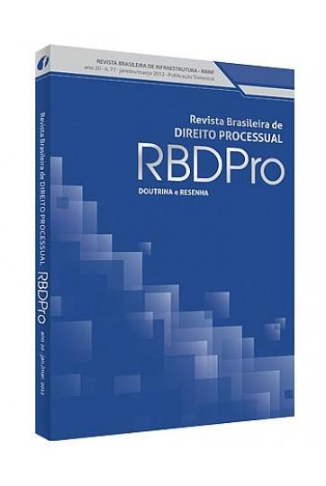 REVISTA BRASILEIRA DE DIREITO PROCESSUAL - RBDPRO