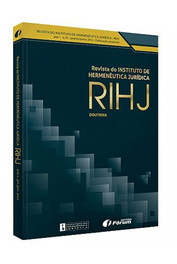 REVISTA DO INSTITUTO DE HERMENÊUTICA JURÍDICA – RIHJ