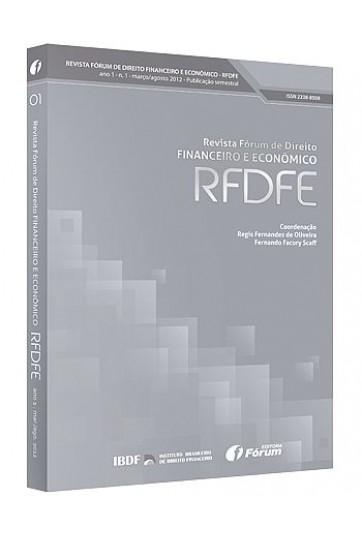 REVISTA FÓRUM DE DIREITO FINANCEIRO E ECONÔMICO – RFDFE