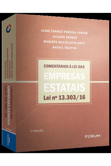 COMENTÁRIOS À LEI DAS EMPRESAS ESTATAIS