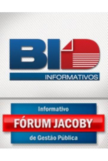 INFORMATIVO FÓRUM JACOBY DE GESTÃO PÚBLICA - 24 Meses